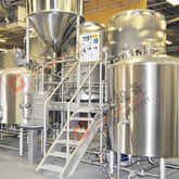 7BBL 3-vessel Beer Brewhouse with Steam/electric Heating American Beer Equipment for Sale