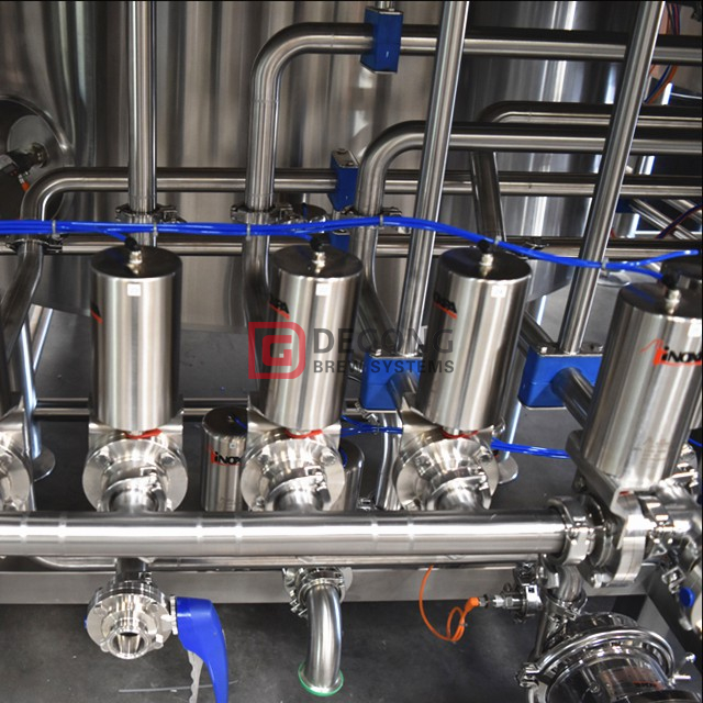 1000L stainless steel steam heated beer brewhouse mash tun for sale