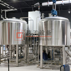700L Standard Brewhouse Craft Beer Brewing System Sus304/316 Or Red Copper Beer Making Line Online for Sale