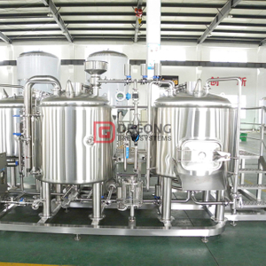 500L Customizable Craft Beer Brewing Equipment Restaurant Used Stainless Steel Beer Brewhouse