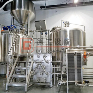 10BBL-50BBL(1BBL=117L) All in One Brewing System Stainless Steel Brew Kettle Turnkey Brewing System for Sale