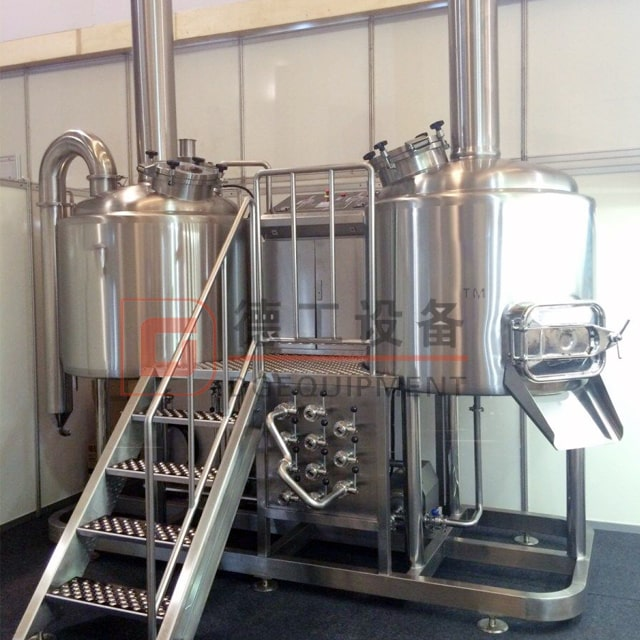 10 Barrel PLC Automatic/semi Auto Commercial Used 3-vessel Brewhouse Brewery Brewing Equipment Manufacturer