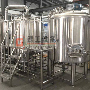 500L sanitary brewing equipment customized brewery equipment for craft beer