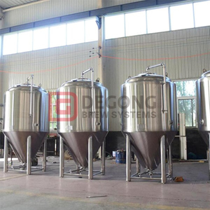 Manufactured 5BBL/500L dimple jacket shell body and cone beer fermentation tanks with stainless steel 304/316 construction