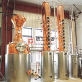 1000L Copper Pot still Electric/Steam Heated Alcohol Distillation Machine Colume Distillery for Gin Vodka Rum Whiskey