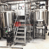 craft turnkey stainless steel 1BBL-20BBL beer brewing equipment applied in brewery restaurant beer bar for sale