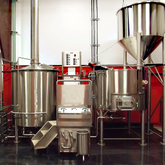 Customzied Steam/electric/direct Fire Heating 6HL Combined 2-vessels Beer Brewhouse for Brewery Equipment Used