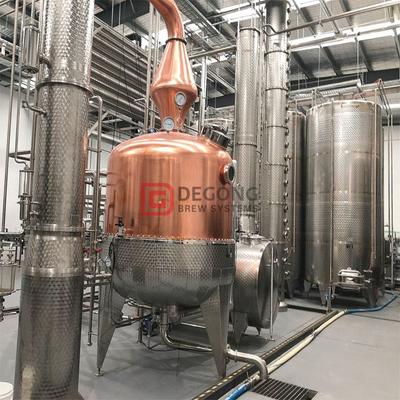 200L/500L/1000L Distilling equipment stainless steel ethanol distillation equipment, vodka/ gin alcohol production equipment
