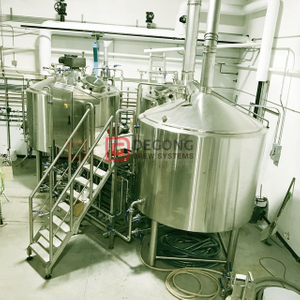 10 15 20 Barrel Experiment Beer Production Machine Microbrewery Beer Plant for Witbier Beer