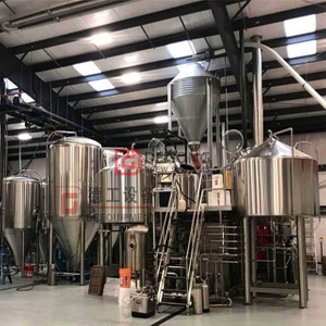 500L/1000L/1500L/2000L turnkey beer brewing equipment brewery manufacturer for brewing craft beer