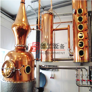 200L Craft Red Copper Alcohol Distilling Equipment for Whiskey,Brandy,Vodkas,Rum