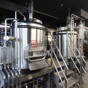 Automatic Control System for 200L- 5000L Beer Brewhouse Chinese Professional Manufacturer Suitable for Restaurant Pub Tap Room Hotel
