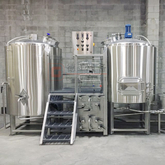 1000L commercial fully insulated automated beer brewhouse mashing tun for sale