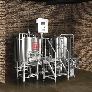 1000L commercial automated steel micro beer brewery system for sale