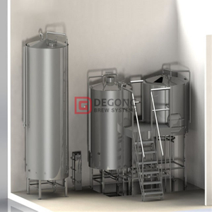 Introducing Two Vessel Brewhouse 1000L 10HL Brewing System Industrial Brewery Equipment Craft Beer