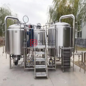 craft brewery system 2000L beer manufacturing equipment with steam heating