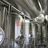 1000L conical jacketed and insulated beer fermentation tank for sale