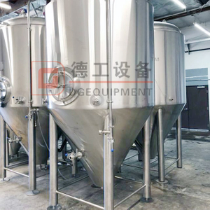 10BBL Beer Fermenter Dimple Jacket Glycol Cooling System Dimple Fermentation Tank Near Me