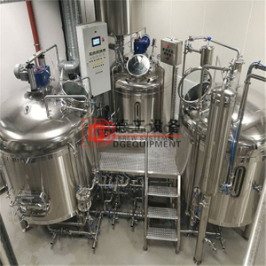 Beer machinery turnkey brewery equipment 15BBL for craft beer in stock