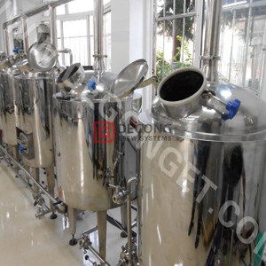 100L/200L Mini Brewery Equipment for Brewing Craft Beer Brewery Stainless Steel Beer Making Machine